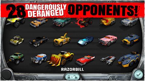 Игра на iOS Carmageddon