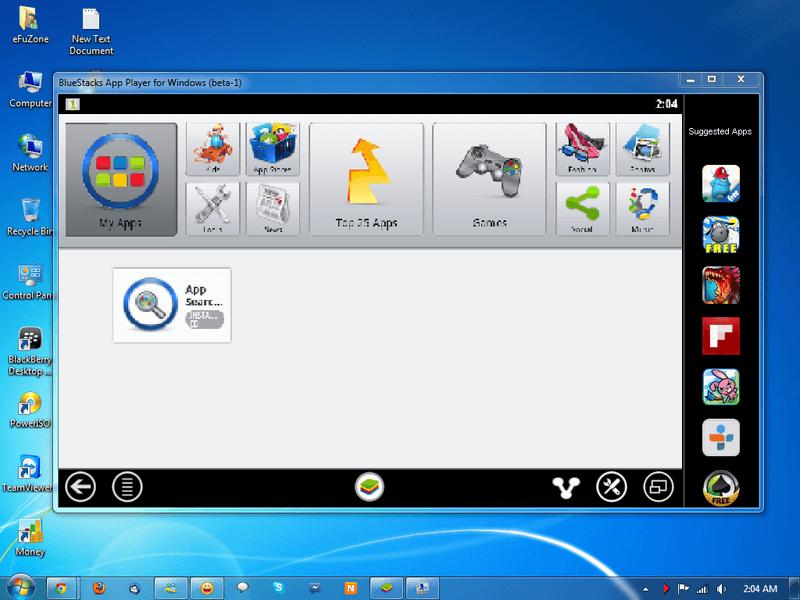 Эмулятор Android BlueStacks