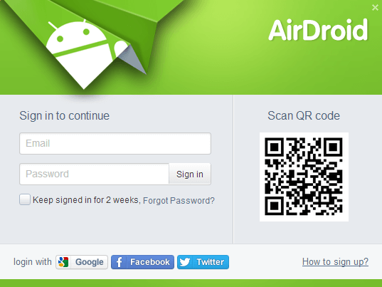 Android sync program - AirDroid