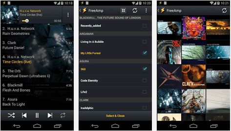 Медиаплеер для Android - WinAmp (FreeAmp)