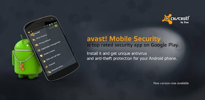 Antivirus for Android - Avast Mobile Security