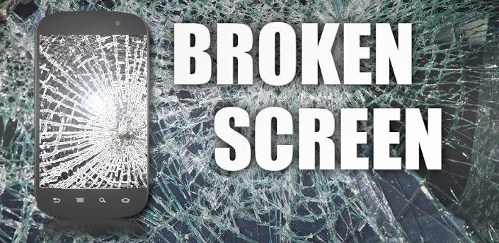 Приложение для Android Broken Screen
