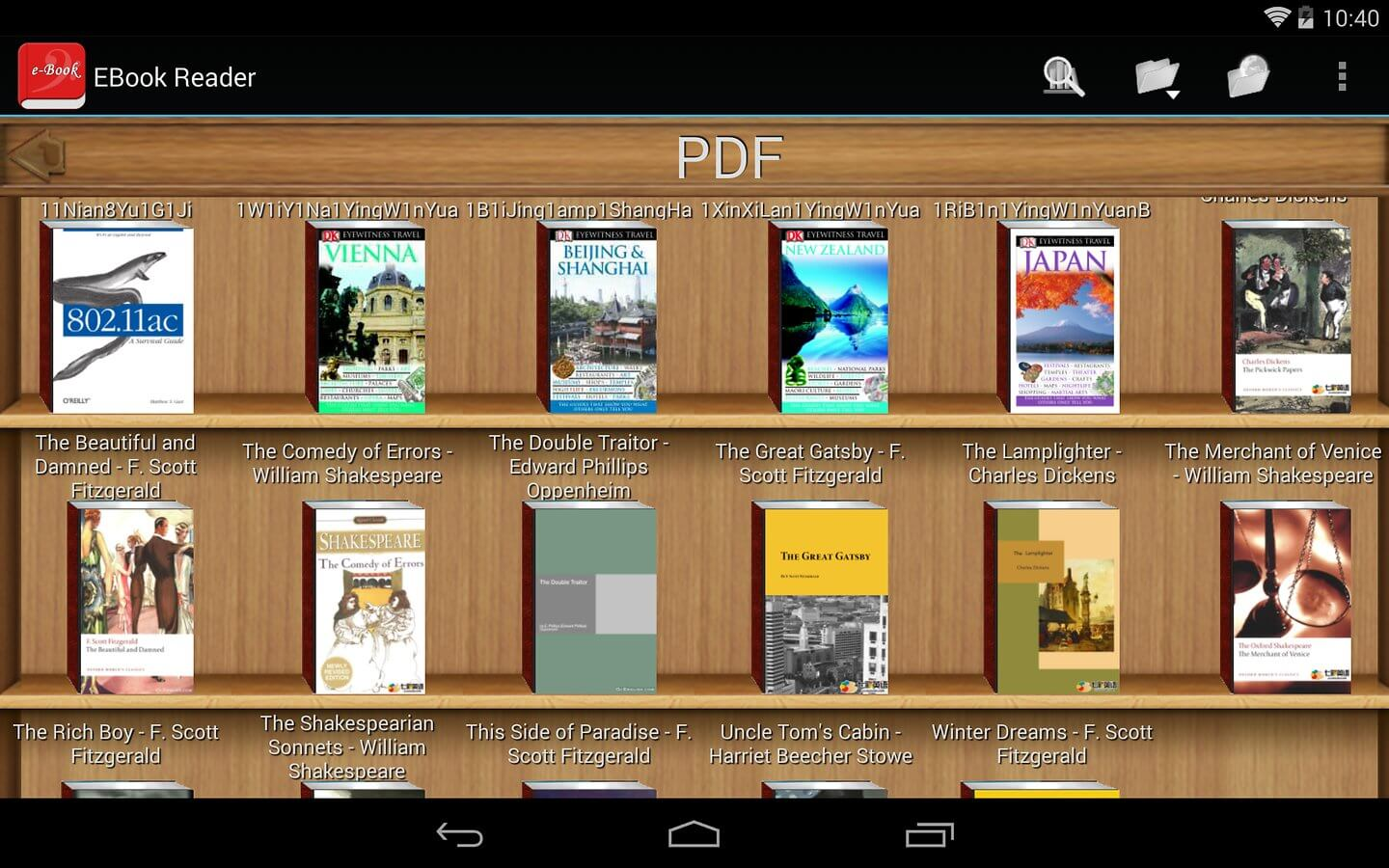 DJVU Reader for Android - Ebook