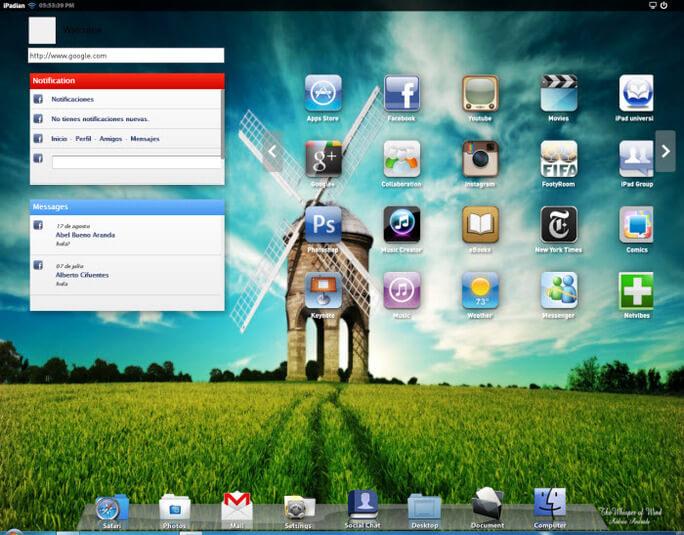 Эмулятор iOS - iPadian