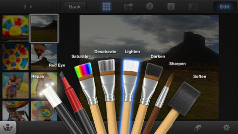 Photo Editor for iPad and iPhone - iPhoto