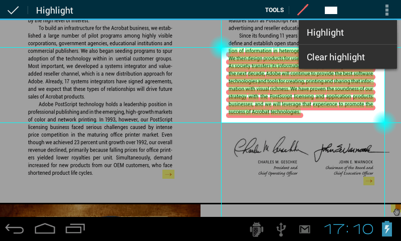 DJVU Reader for Android - EBookDroid