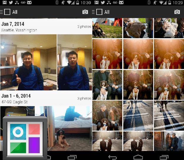 Просмотрщик фотографий на Android - Cyanogen Gallery