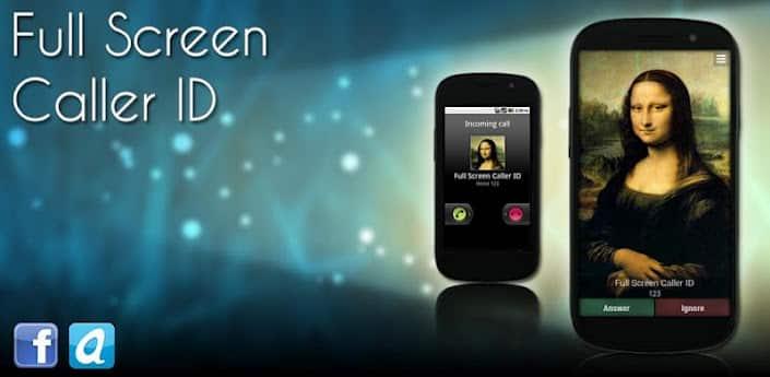 Программа для установки фото на звонок Android - Full Screen Caller ID