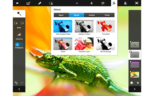 Photo Editor for Android - Photoshop Touch