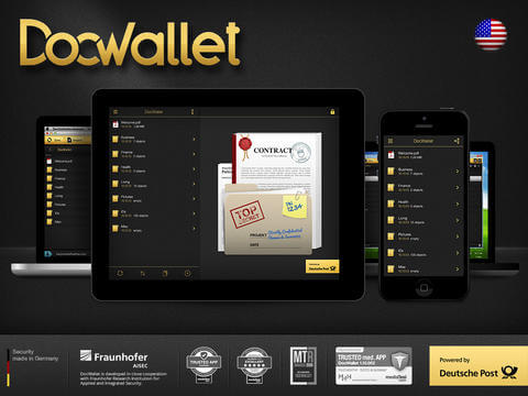 Application for iPad and iPhone - DocWallet