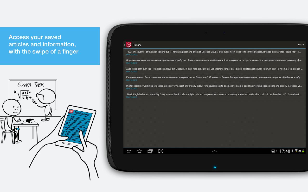 Фото переводчик для Android - ABBYY TextGrabber