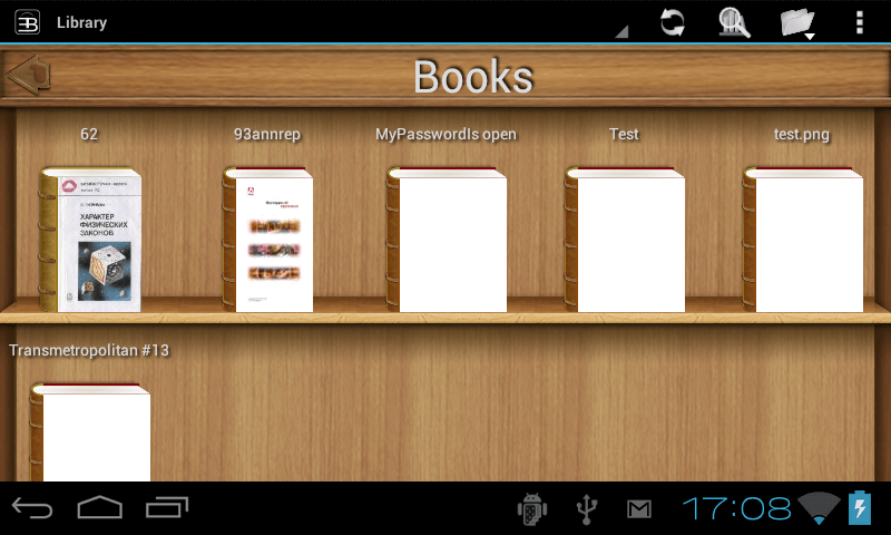 Читалка PDF для Android - EBookDroid - PDF & DJVU Reader