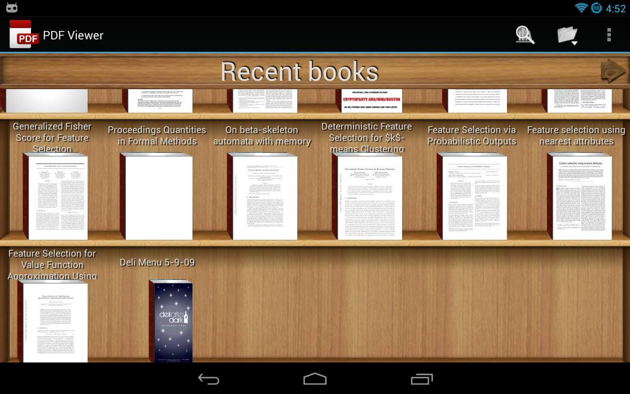 Читалка PDF для Android - PDF Viewer