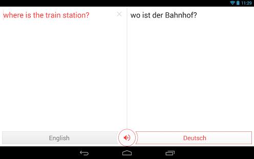 Фото переводчик для Android - Переводчик Google