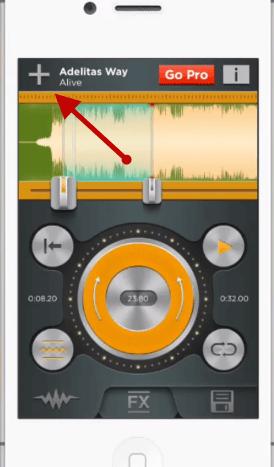 Adding a song to a ringtone