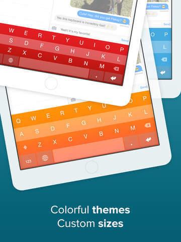 Useful program for iPad and iPhone - Fleksy Keyboard