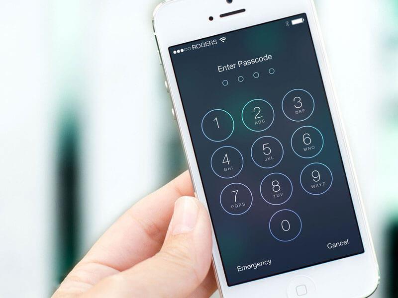Забыл пароль на iPhone