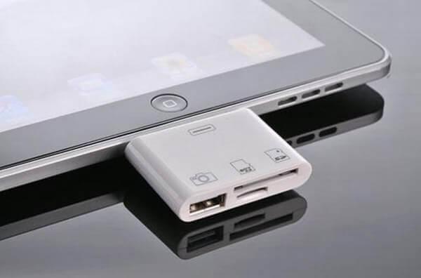 Как подключить флешку к iPad