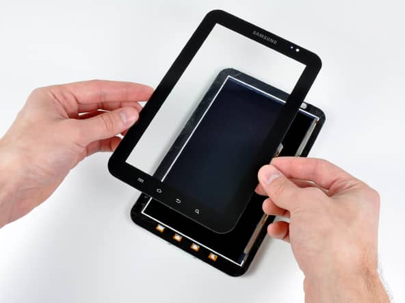 Selection of high-quality glass screen for the tablet