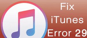 Как исправить ошибку 29 на iPhone 4s во время восстановления
