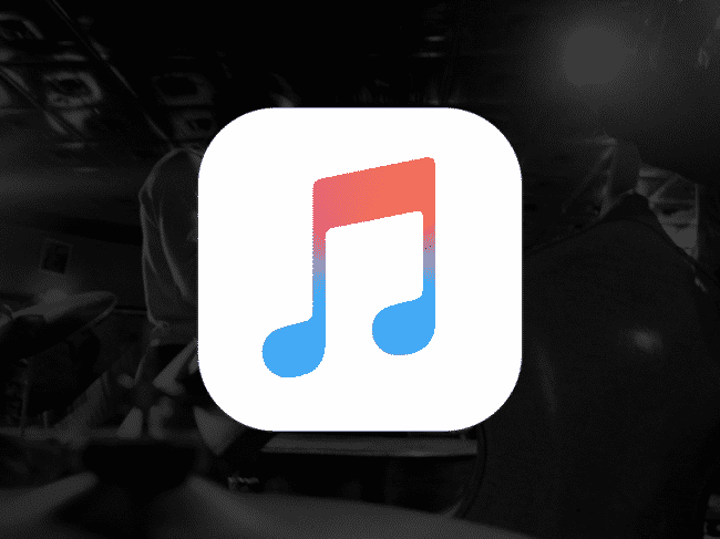 iphone music application