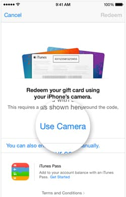 USE Camera - function