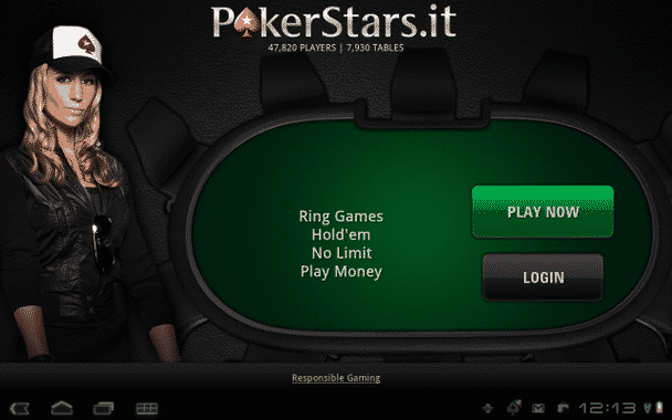 pokerstars for Android