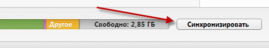 Синхронизация iTunes