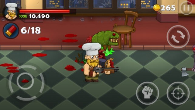 Игра на iOS Bloody Harry