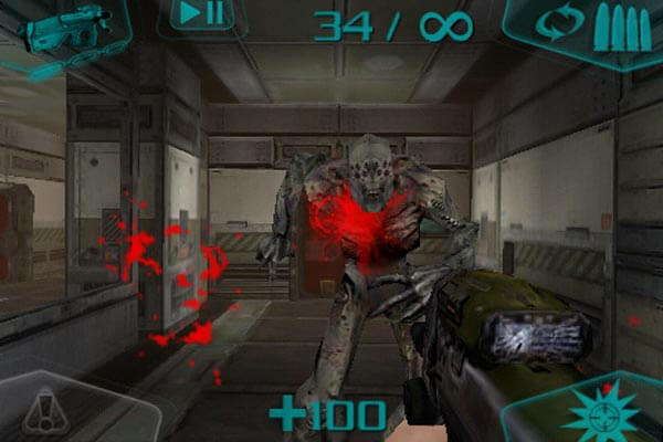 Игра на iOS Doom Resurrection