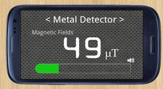 Приложение для Android Металлоискатель