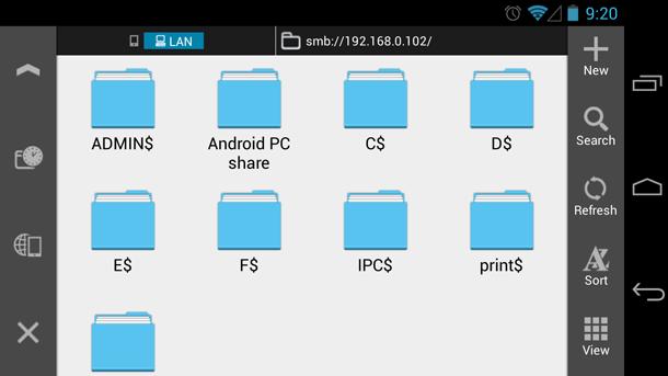 Файловый менеджер для Android - ES File Explorer