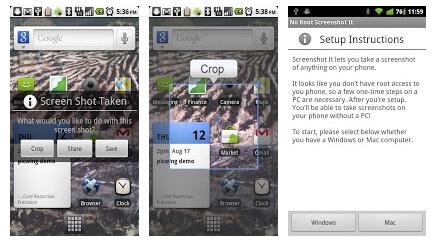 Программа для создания скриншотов на android - No Root Screenshot it