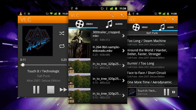 Видеоплеер для ОС Андроид - VLC for Android