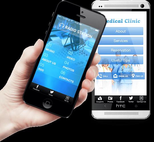 Инструмент для создания приложений для Android - IbuildApp