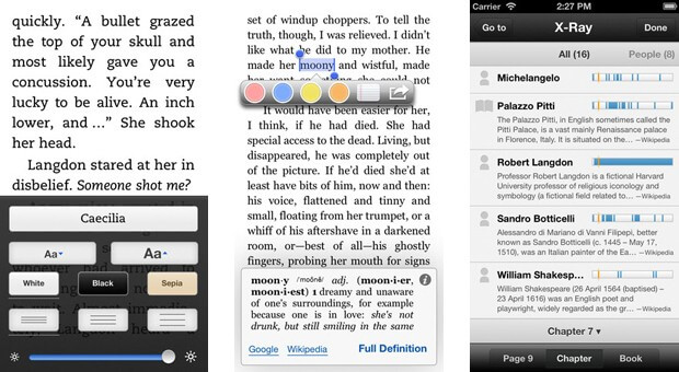 Читалка для iPad и iPhone - Kindle