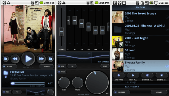 Медиаплеер для Android - Poweramp