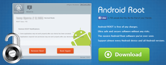 Программа для рутирования Android - Kingo Android ROOT