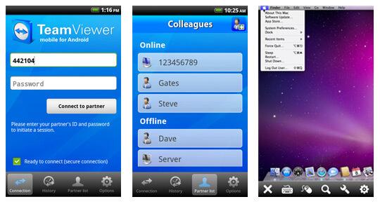 Программа для удаленного управления Android - TeamViewer