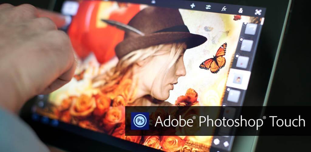 Фоторедактор для iPad и iPhone - Photoshop Touch