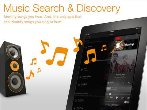 Интересное приложение для iPhone и iPad - SoundHound