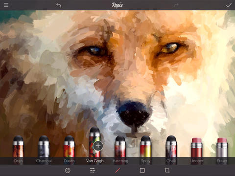 Интересное приложение для iPhone и iPad - Repix