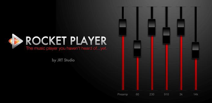 Музыкальный плеер для Android - Rocket Player