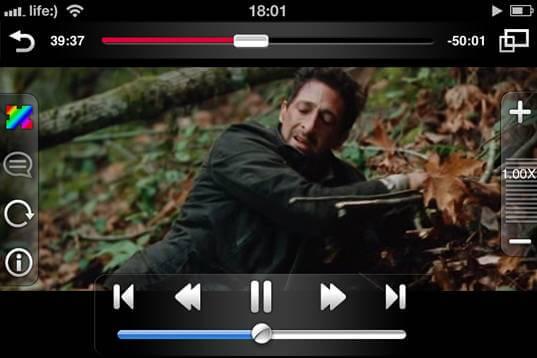 Видеоплеер для iPad и iPhone - AVplayer