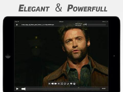 Видеоплеер для iPad и iPhone - PlayerXtreme HD