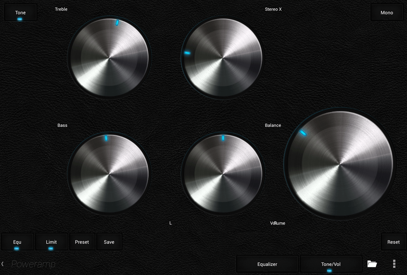 Музыкальный плеер для Android - Poweramp