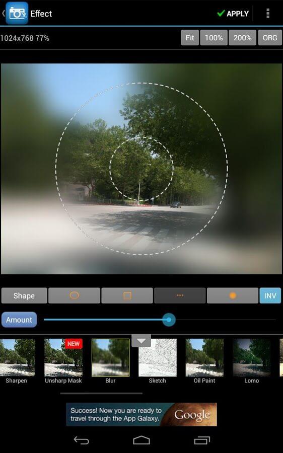 редактор фотографий для андроид - фото 3