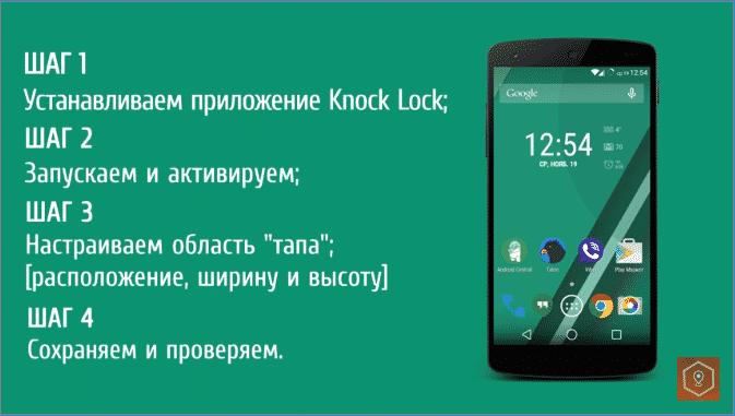 Настройка разблокировки Android. Виды разблокировок.
