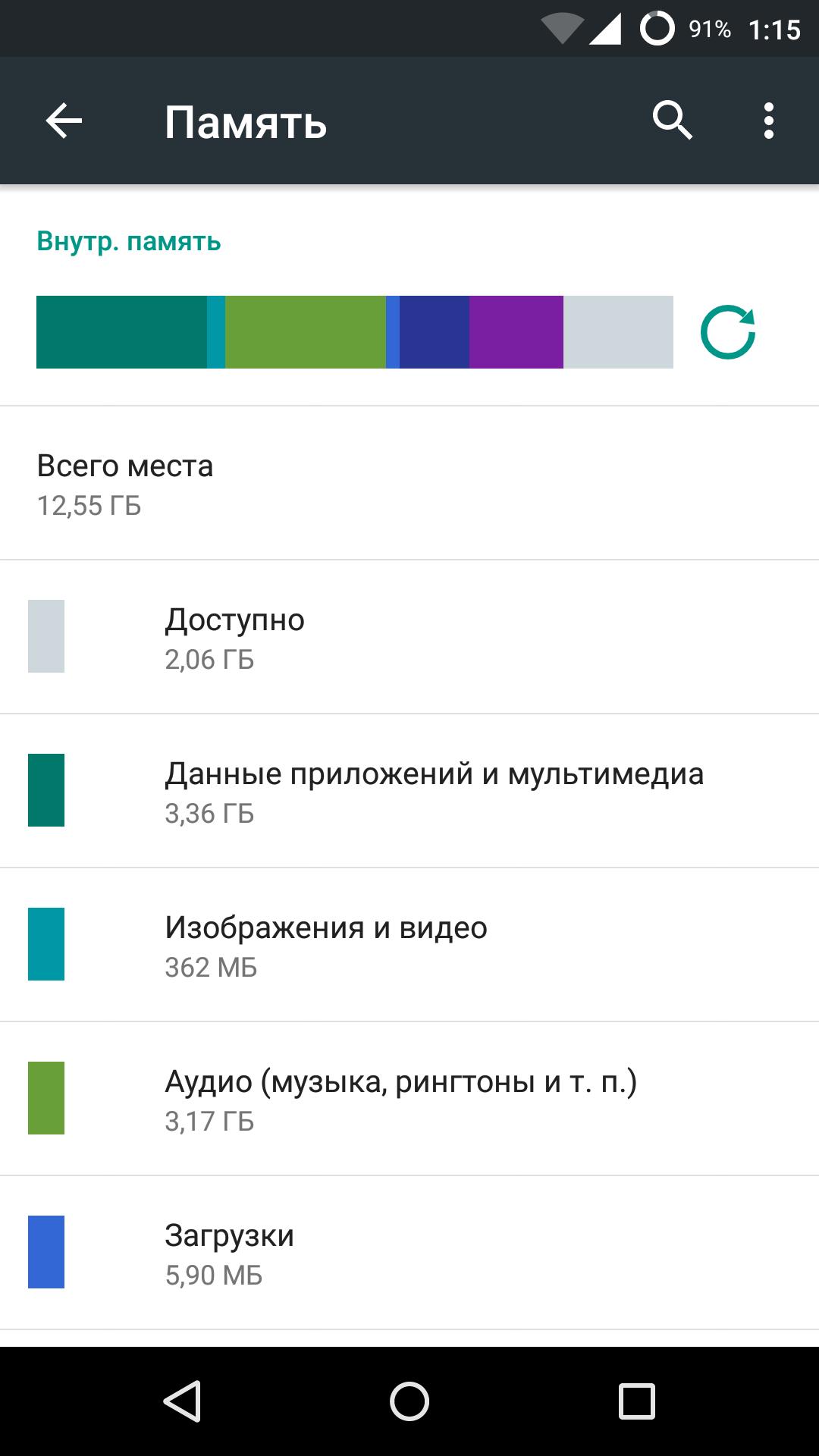 Как почистить память телефона на Андроид