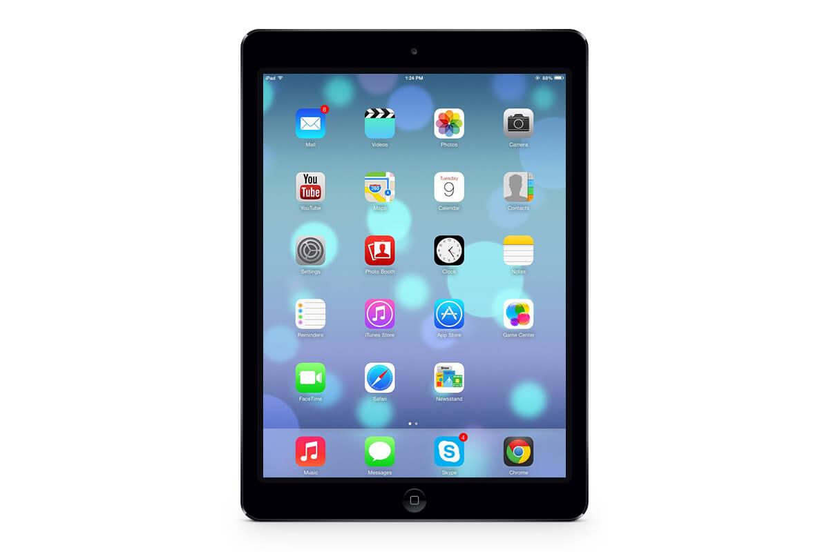 Как определить модель вашего iPad
